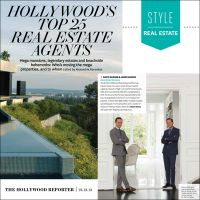 The Hollywood Reporter Features Bond Street Partners as Top Luxury Realtors